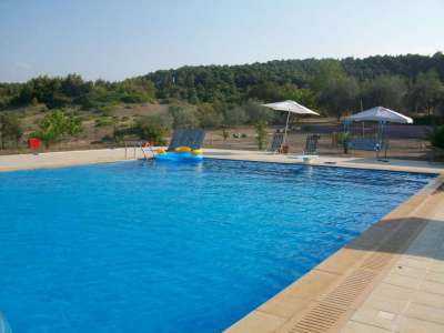 Image 3 | Beachfront Camp Site Business  for Sale  in Evia Island (Euboea)plus 3 buildings with 12 Suites, Bar Restaurant and Pool. 207029
