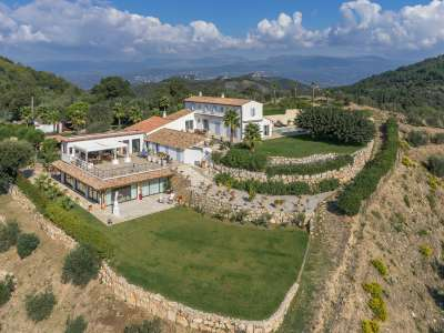 Image 1 | 6 bedroom villa for sale with 10.2 hectares of land, Tanneron, Var , French Riviera 208483