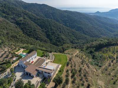 Image 2 | 6 bedroom villa for sale with 10.2 hectares of land, Tanneron, Var , French Riviera 208483