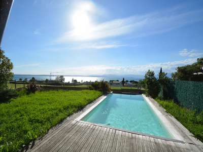 Image 2   Pretty Waterfront Villa for Sale in Lasize - Pacengo, Lake Garda with Pool 208939