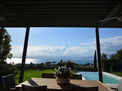 Image 4   Pretty Waterfront Villa for Sale in Lasize - Pacengo, Lake Garda with Pool 208939