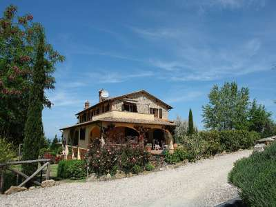 Image 2   7 bedroom villa for sale with 10 hectares of land, Montaione, Florence, Chianti 209773