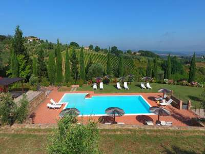 Image 4   7 bedroom villa for sale with 10 hectares of land, Montaione, Florence, Chianti 209773