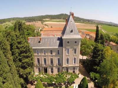 Image 2 | 10 bedroom French chateau for sale with 10.5 hectares of land, Nissan lez Enserune, Herault , Languedoc-Roussillon 210311
