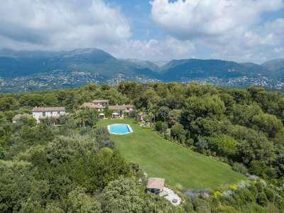 Image 18 | 9 bedroom villa for sale with 1.27 hectares of land, Les Hauts de St. Paul, Saint Paul de Vence, Alpes-Maritimes 6, French Riviera 211404