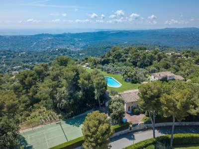 Image 21 | 9 bedroom villa for sale with 1.27 hectares of land, Les Hauts de St. Paul, Saint Paul de Vence, Alpes-Maritimes 6, French Riviera 211404