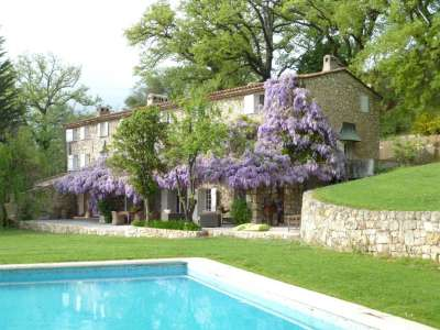 Image 1 | 5 bedroom farmhouse for sale with 0.9 hectares of land, Chateauneuf, Grasse, French Riviera 211440