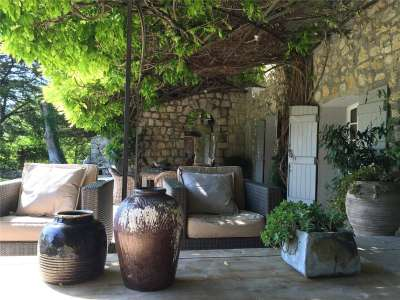 Image 3 | 5 bedroom farmhouse for sale with 0.9 hectares of land, Chateauneuf, Grasse, French Riviera 211440