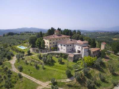 Image 1 | 6 bedroom villa for sale with 14.5 hectares of land, Florence, Chianti 215385