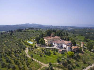 Image 2 | 6 bedroom villa for sale with 14.5 hectares of land, Florence, Chianti 215385