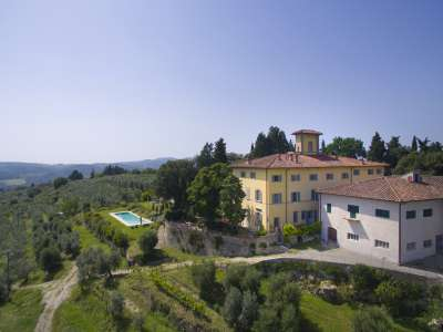 Image 3 | 6 bedroom villa for sale with 14.5 hectares of land, Florence, Chianti 215385