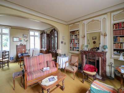 Image 5 | 9 bedroom manor house for sale with 1.73 hectares of land, Vaas, Chateau du Loir, Sarthe , Loire Valley 216087