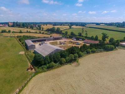 Image 3 | Superb Equestrian French Chateau with Stud Farm for Sale in Normandy, France with 300 acres  217843
