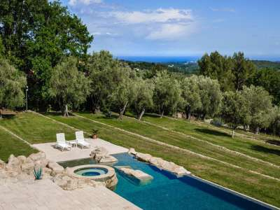 Image 2 | 5 bedroom villa for sale with 1 hectares of land, Chateauneuf, Grasse, French Riviera 218204
