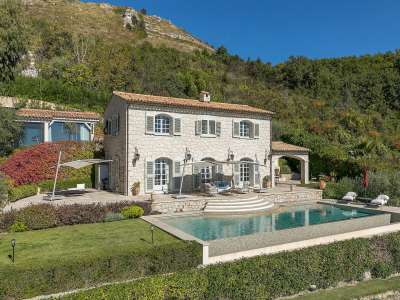 Image 1 | 4 bedroom villa for sale with 1,885m2 of land, Tourrettes sur Loup, Alpes-Maritimes 6, French Riviera 219619