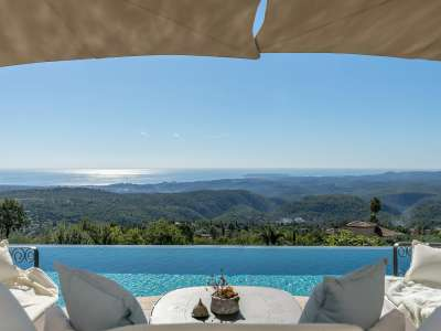 Image 2 | 4 bedroom villa for sale with 1,885m2 of land, Tourrettes sur Loup, Alpes-Maritimes 6, French Riviera 219619