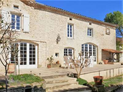 Image 1 | 4 bedroom house for sale with 1,228m2 of land, Villebois Lavalette, Charente , Poitou-Charentes 219745