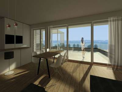 Image 1   3 bedroom apartment for sale with 1,000m2 of land, Bardolino, Verona, Lake Garda 221067