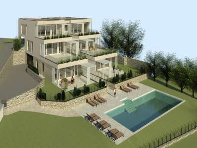 Image 2   3 bedroom apartment for sale with 1,000m2 of land, Bardolino, Verona, Lake Garda 221067