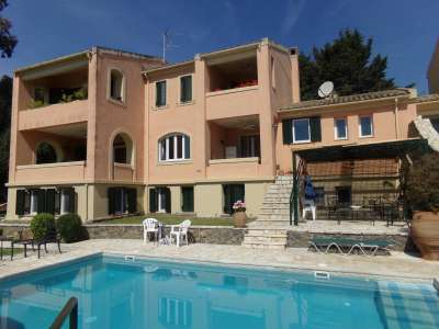 Image 1 | 5 bedroom villa for sale with 1,500m2 of land, Kommeno, Corfu, Ionian Islands 221759
