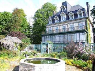Image 1 | A Beautiful 19thCentury Château inNormandy for Sale with Gites 222053