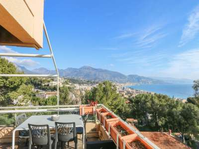 Image 3 | 3 bedroom penthouse for sale with 200m2 of land, Roquebrune Cap Martin, French Riviera 222601