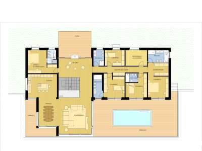 Image 10 | 6 bedroom villa for sale with 1,760m2 of land, Bignanico, Como, Lake Como 222937