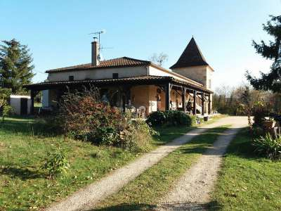 Image 3 | 5 bedroom house for sale with 1.71 hectares of land, Fumel, Lot-et-Garonne , Aquitaine 223142