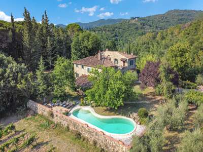 Image 1   4 bedroom farmhouse for sale with 16 hectares of land, Greve in Chianti, Florence, Chianti 224733