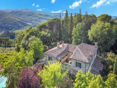 Image 2   4 bedroom farmhouse for sale with 16 hectares of land, Greve in Chianti, Florence, Chianti 224733