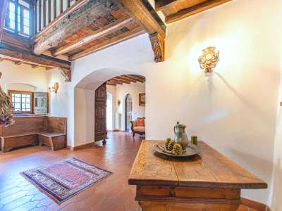Image 3   4 bedroom farmhouse for sale with 16 hectares of land, Greve in Chianti, Florence, Chianti 224733
