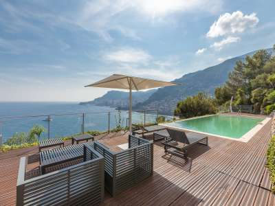 Image 3   5 bedroom villa for sale with 0.22 hectares of land, Roquebrune Cap Martin, French Riviera 225824