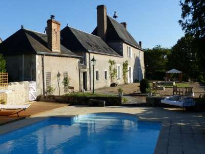 Image 1 | 10 bedroom manor house for sale with 9.6 hectares of land, Tours, Indre-et-Loire , Loire Valley 226262