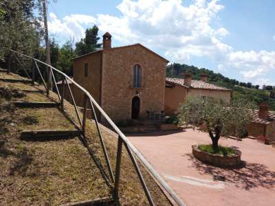 Image 1 | 3 bedroom villa for sale with 150m2 of land, Volterra, Pisa, Tuscany 226410