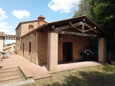 Image 2 | 3 bedroom villa for sale with 150m2 of land, Volterra, Pisa, Tuscany 226410
