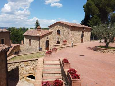 Image 5 | 3 bedroom villa for sale with 150m2 of land, Volterra, Pisa, Tuscany 226410