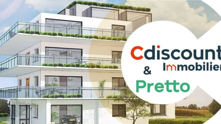 Pretto, courtier 100% digital, vient enrichir l'offre de services immobiliers de Cdiscount