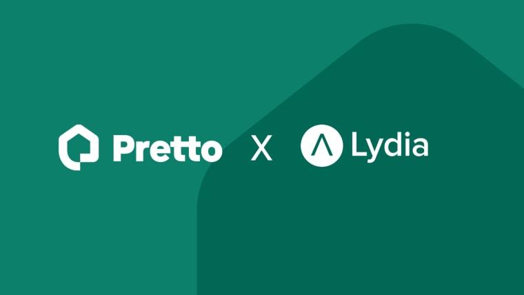 Pretto accompagne les utilisateurs de Lydia dans leur recherche d'un prêt immobilier