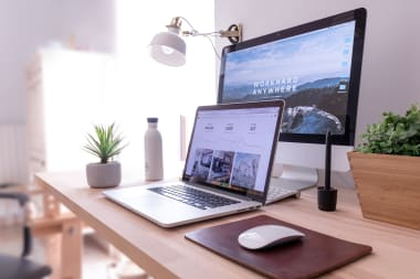 Aménagement espace bureau pour télétravail