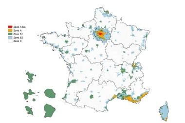 Zonage en France
