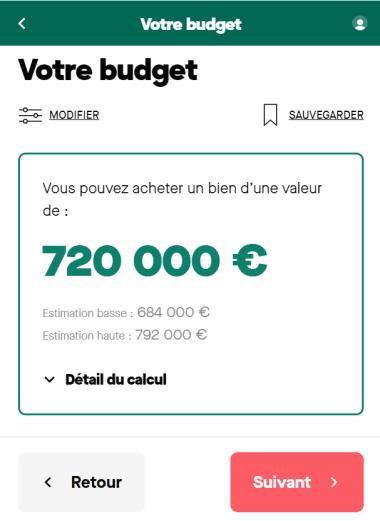 Simulation budget 20 ans avec un salaire de 8 500 euros par mois
