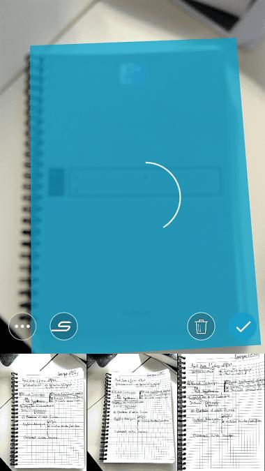 capture d'écran de Scannable Evernote