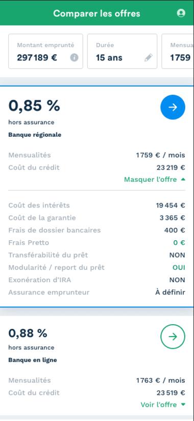 exemple de simulation d'investissement locatif en Aquitaine