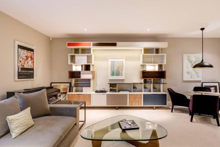 Photo immobilier salon