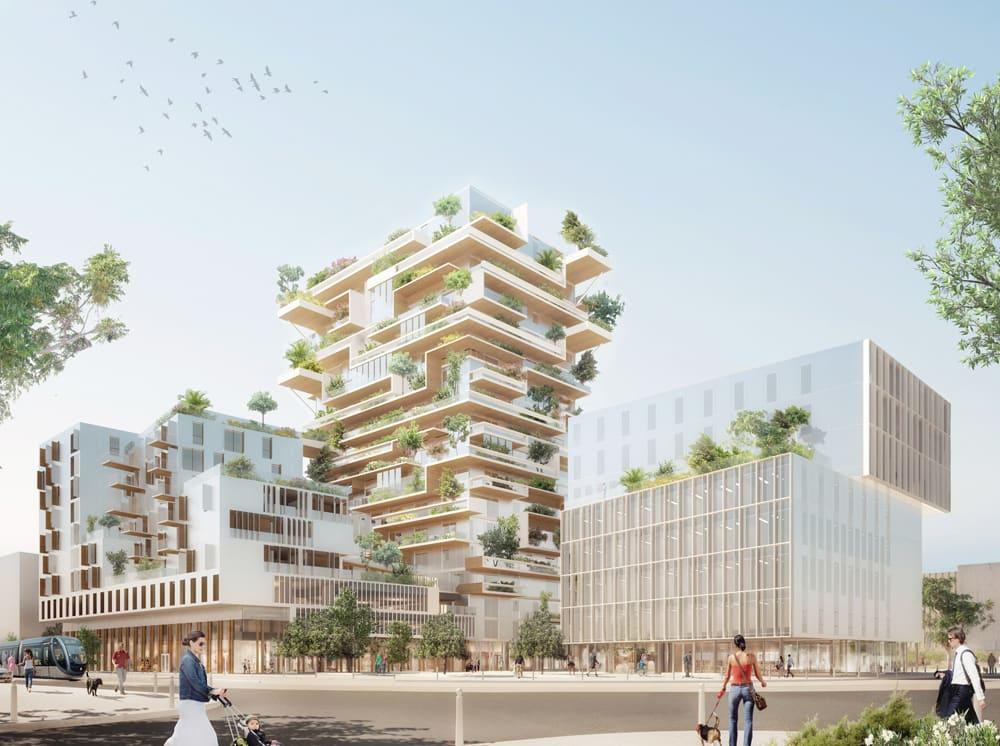 le projet écologique Hyperion par le promoteur Eiffage immobilier