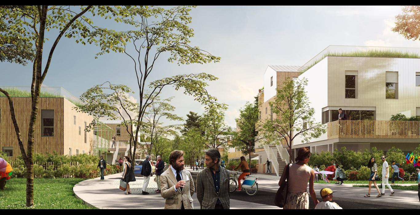 exemple de projet écologique par le promoteur REI Habitat