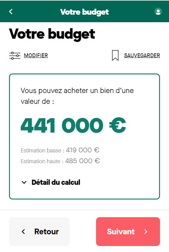 quel salaire pour emprunter 550000 euros screenshot1