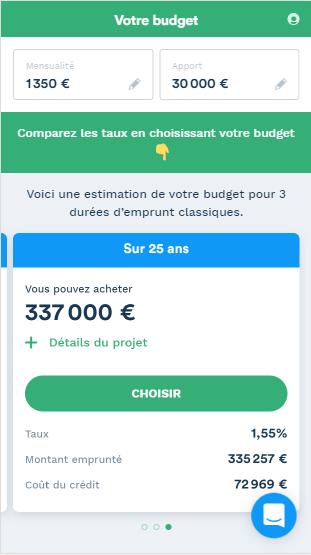 Utilisez le simulateur Pretto pour calculer votre budget.