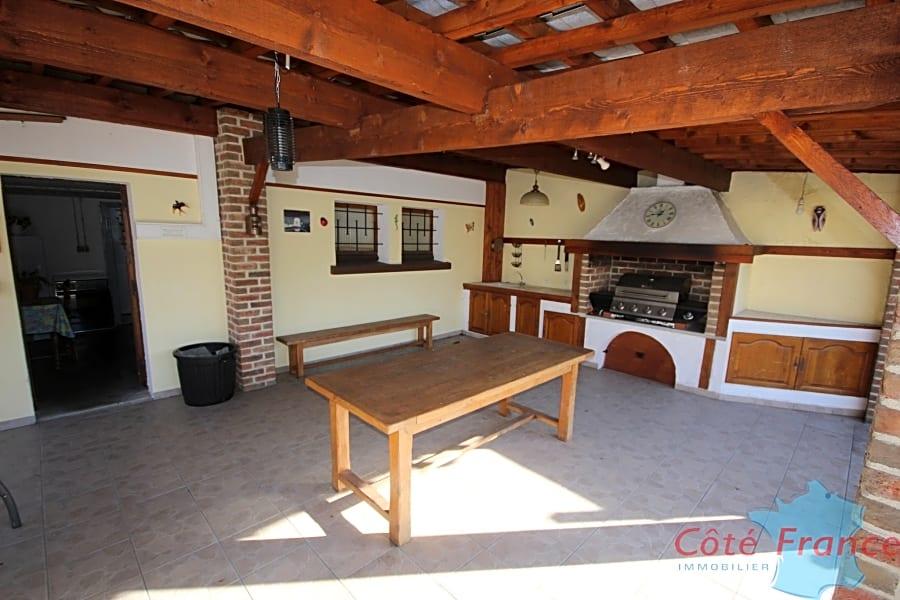 GIVET Pavillon individuel 4 chambres habitable de plain pied avec terrain et garage