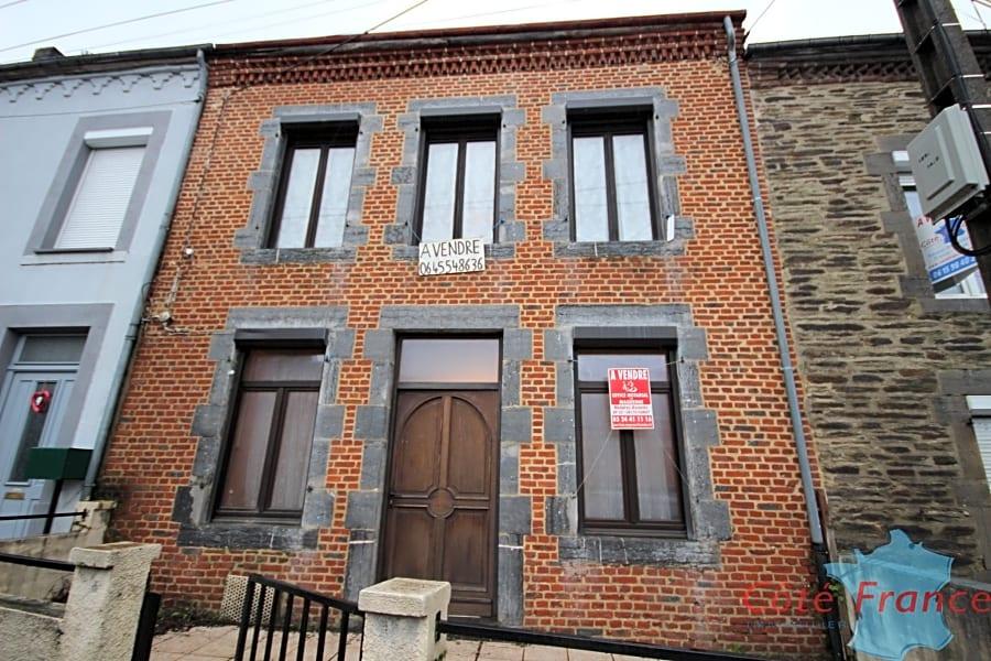 FUMAY Maison à rénover en centre ville